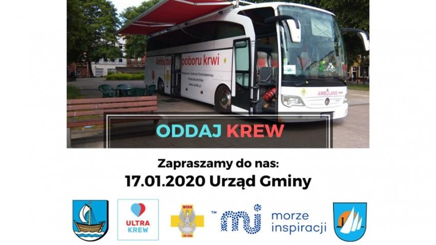Zbiórka krwi w Sztutowie w ramach akcji Ultrakrew.