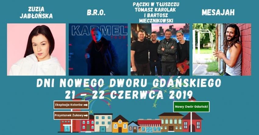 Dni Nowego Dworu Gdańskiego. Program na 21/22.06.2019