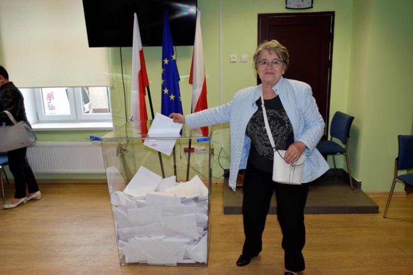Wybory do europarlamentu 2019. Mieszkańcy Powiatu Nowodworskiego głosowali.