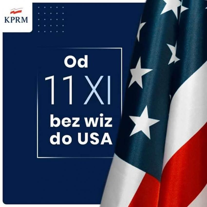 Polska dołączyła do Programu Ruchu Bezwizowego. Bez wiz do Stanów od 11 listopada.