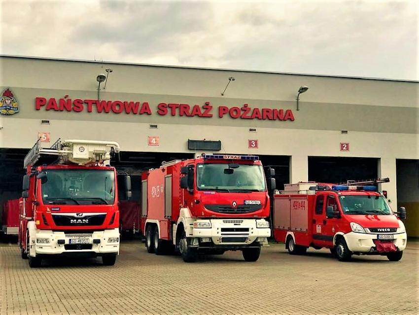Powiat Nowodworski. Wybuch gazu. Wypadek w Żuławkach. Podsumowanie służb.