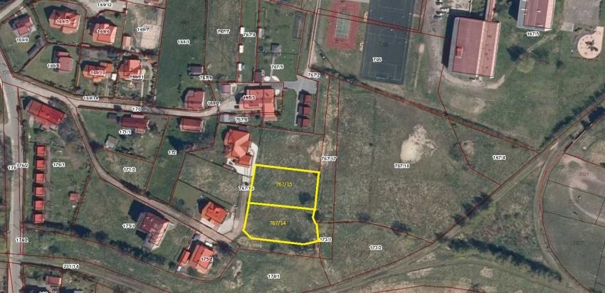 Ogłoszenie o czwartym ustnym nieograniczonym przetargu na sprzedaż nieruchomości gruntowej dz. 767/14 Sztutowo ul. Kolejowa.