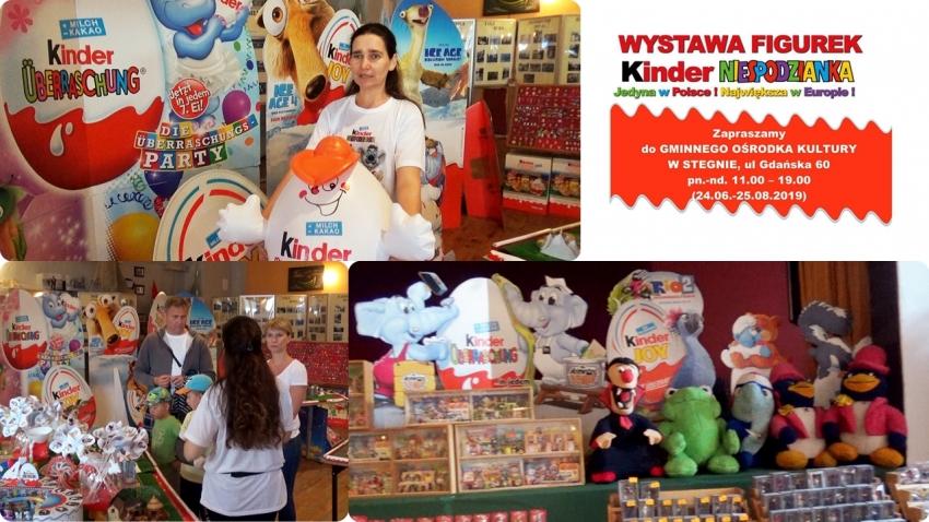 Stegna. Wystawa Figurek Kinder Niespodzianka. Jedyna w Polsce. Największa w Europie. Już otwarte.