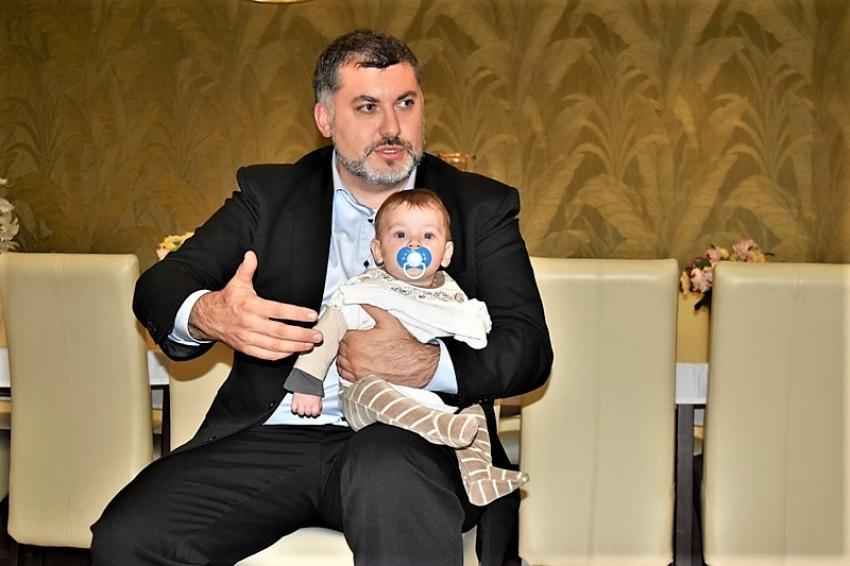 Poseł na Sejm Artur Dziambor na spotkaniu z mieszkańcami  w Nowym Dworze Gdańskim
