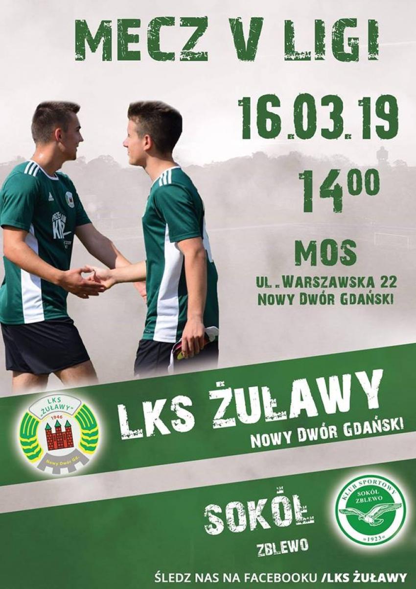Pierwszy mecz ligowy w rundzie wiosennej sezonu 2018/2019 w sobotę.