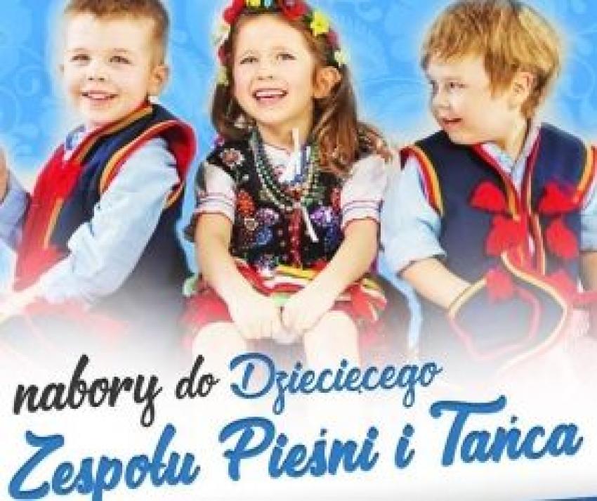 Nowy Staw. Dziecięcy zespół Pieśni i Tańca – nabór.