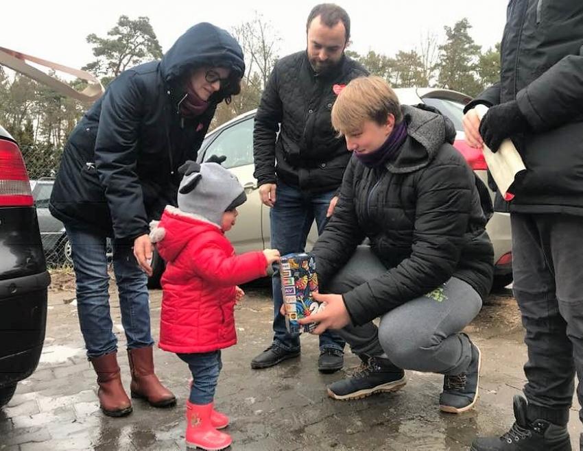 Orkiestra zagrała w gminie Stegna. 27 Finał WOŚP- 13.01.2019