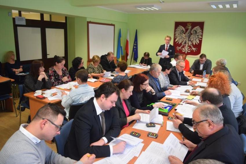 IV sesja Rady Gminy Sztutowo.