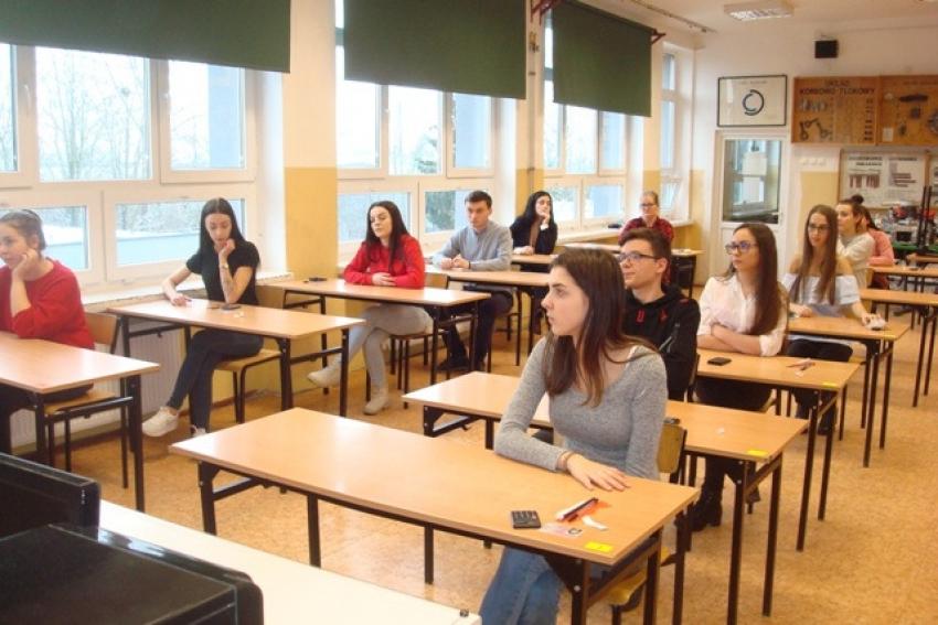 Egzaminy zawodowe w Zespole Szkół nr 2.