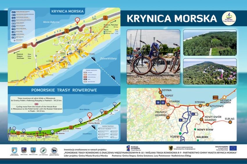 Zaproszenie na oficjalne otwarcie promenady i ścieżki rowerowej w Krynicy Morskiej