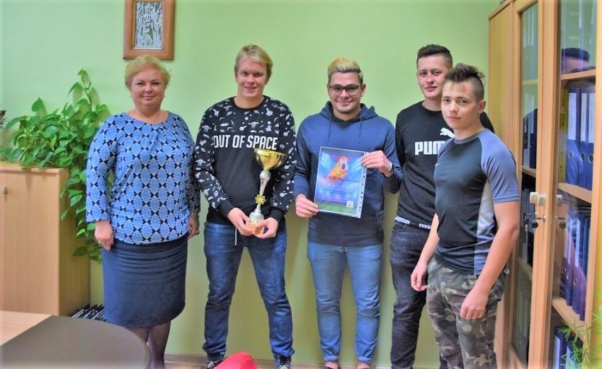 Sukces sportowy uczniów Zespołu Szkół