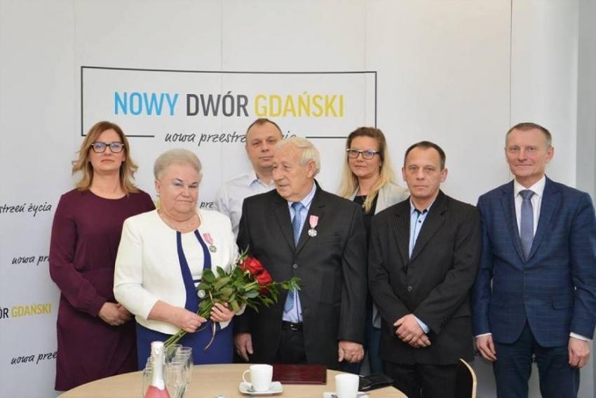 Nowy Dwór Gdański. Złote Gody Państwa Nycnerskich