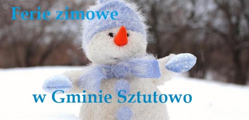 Ferie Zimowe w Gminie Sztutowo.