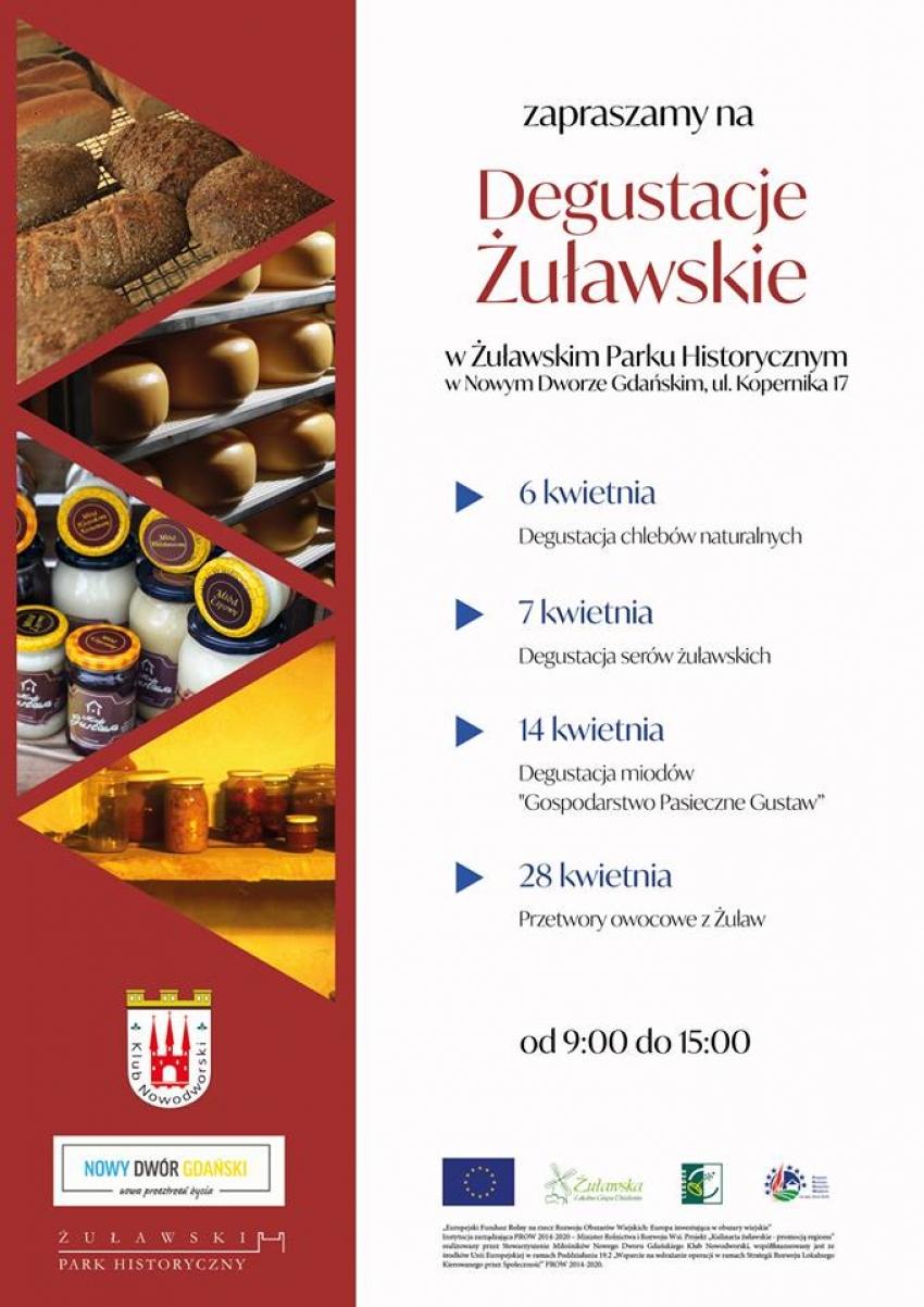 Nowy Dwór Gdański. Spróbuj smaków Żuław. Żuławski Park Historyczny zaprasza na ostatnią odsłonę żuławskich smaków.