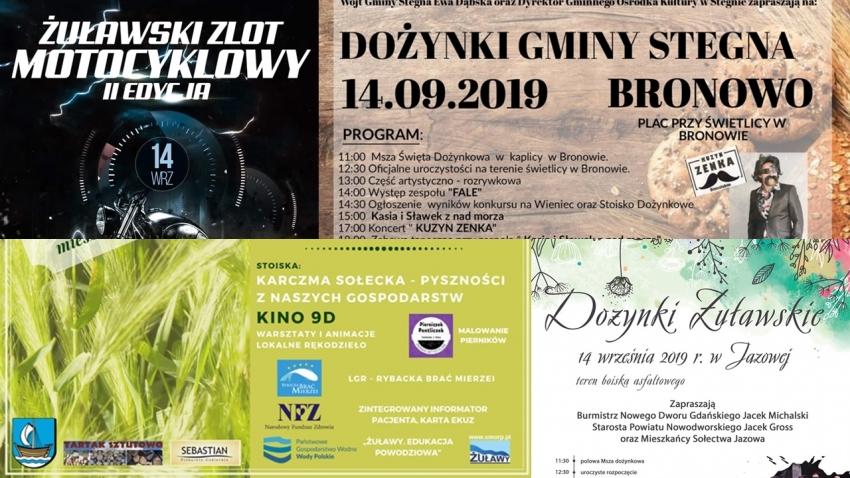 Powiat Nowodworski. Zbliża się weekend pełen atrakcji. Zobacz program.