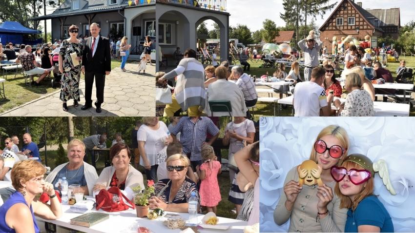 Gmina Stegna. Festyn rodzinny w Bronowie.