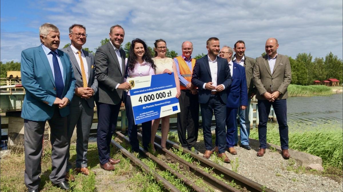 4 mln zł dla powiatu na remont mostu w Rybinie i nie tylko.