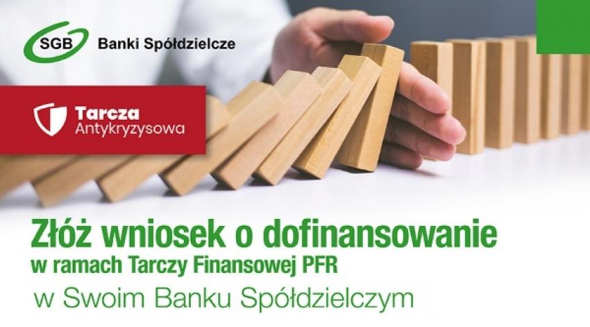 Żuławski Bank Spółdzielczy obsłuży  Tarczę Finansową dla przedsiębiorców!