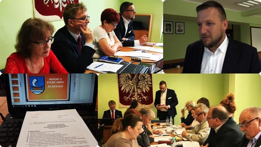 Raport o stanie gminy. VII Sesja Rady Gminy Sztutowo - 23.05.2019