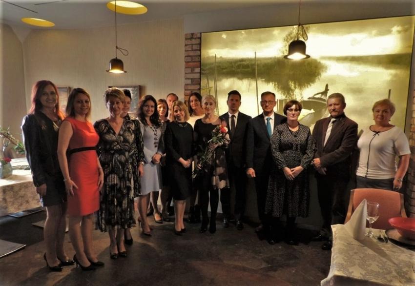 Nagrody Starosty Nowodworskiego z okazji dnia Edukacji Narodowej.