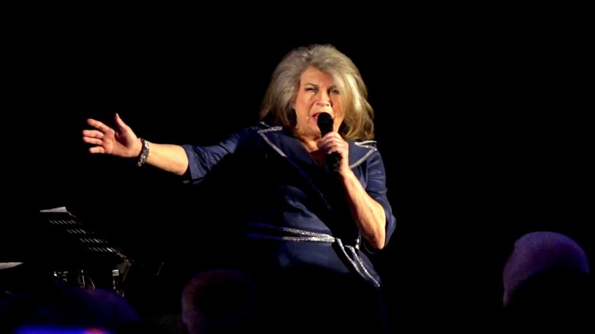 Old Jazz nad Tugą. Krystyna Prońko  wystąpiła dla nowodworskiej publiczności.