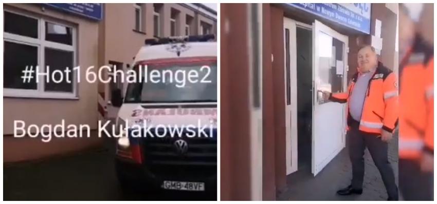 Nowy Dwór Gd. #Hot16Challenge2 Dyrektora Szpitala Bogdana Kułakowskiego.