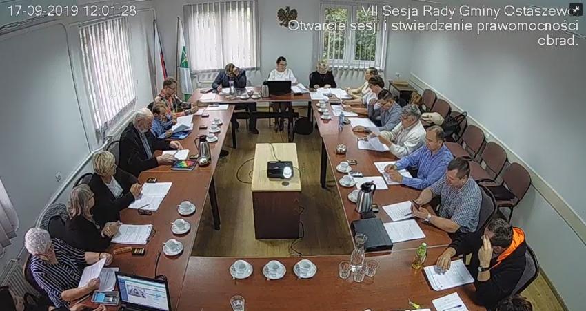 VII Sesja Rady Gminy Ostaszewo. Zobacz czym zajmowali się radni.