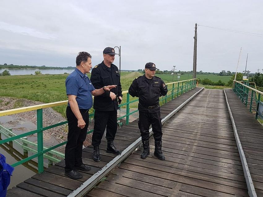 Komendant Główny Państwowej Straży Pożarnej odwiedził powiat nowodworski.