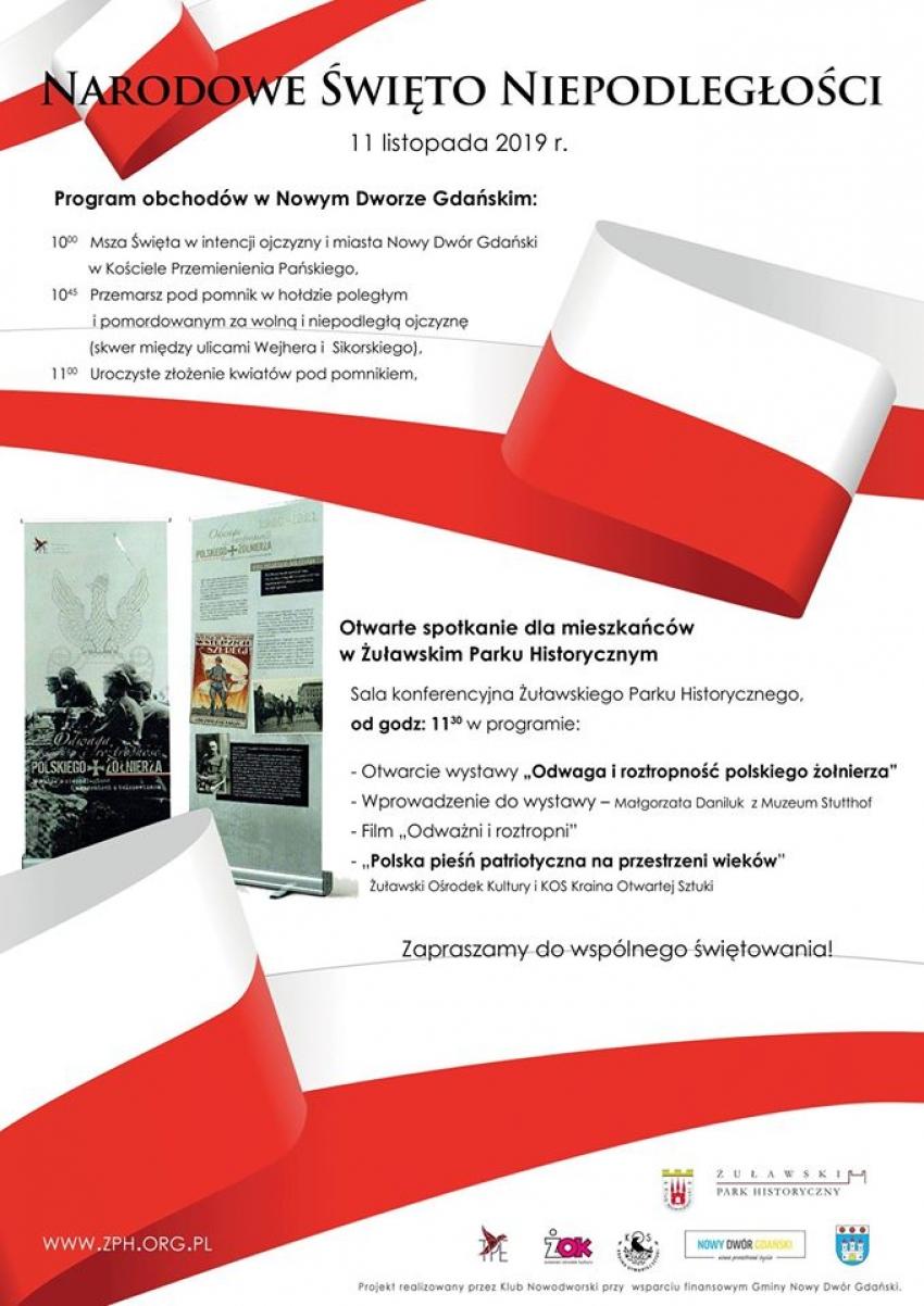 Narodowe Święto Niepodległości w Żuławskim Parku Historycznym