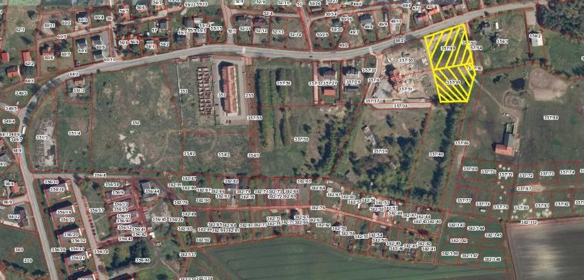 Ogłoszenie o trzecim ustnym przetargu nieograniczonym na sprzedaż nieruchomości gruntowych niezabudowanych położonych w Sztutowie ul. Zalewowa dz. nr 357/89, 357/91