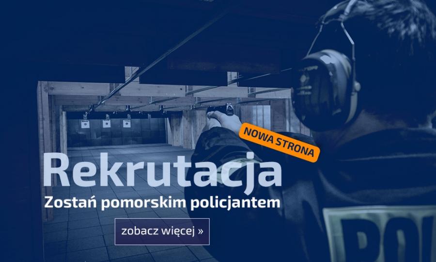 Zostań pomorskim policjantem! - Nowa strona www - Wszystkie informacje w jednym miejscu