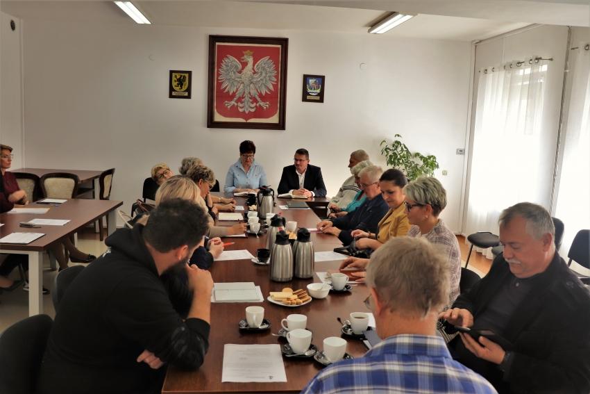 Spotkanie Wójt Gminy Stegna z Sołtysami Sołectw.