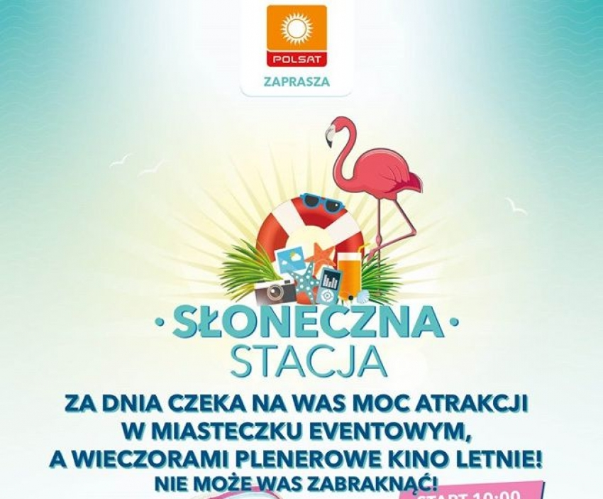 Słoneczna Stacja z Polsatem zaprasza na plaże Mierzei Wiślanej.