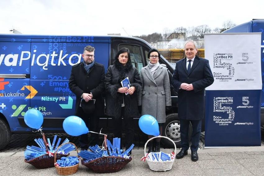 Nowa Piątka wyrusza w Pomorskie.