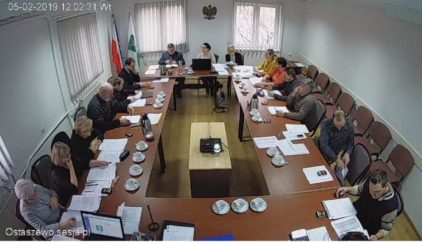III Sesja Rady Gminy Ostaszewo.