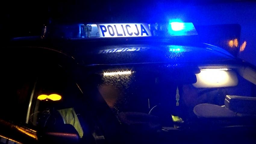 Elbląg: Policjanci szukają wandala (wideo)
