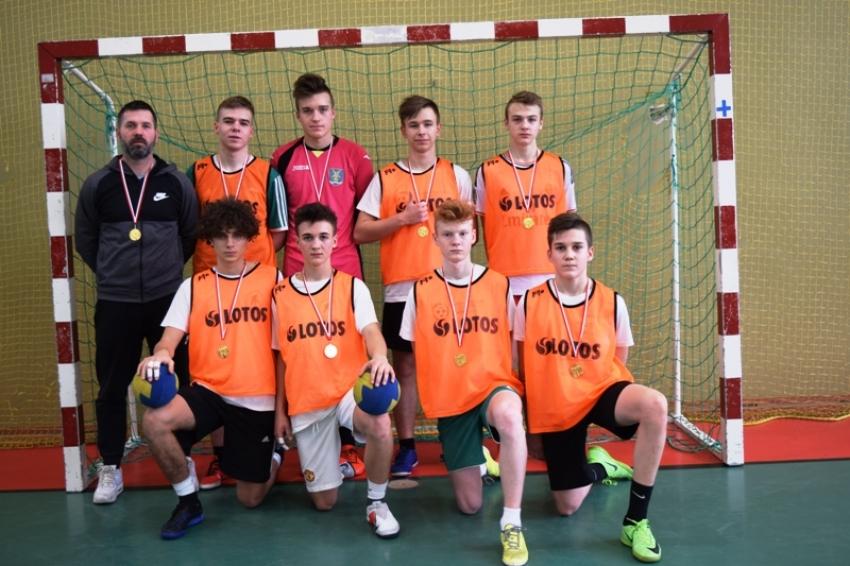 Sztutowo. Mistrzostwa Powiatu w Piłce Ręcznej Chłopców - 07.02.2019
