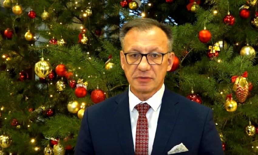 Życzenia Świąteczne Starosta Nowodworski Jacek Gross