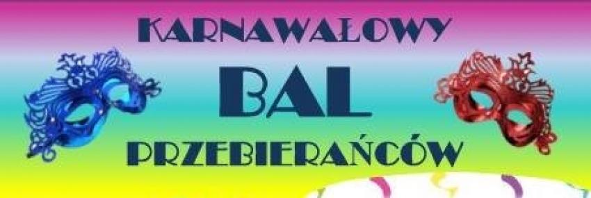 Karnawałowy Bal Przebierańców dla dorosłych w Mikoszewie.