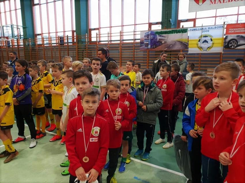 Młodzi zawodnicy z LKS Żuławy brali udział w Malborskim turnieju Pośpiech Trans Cup 2019.