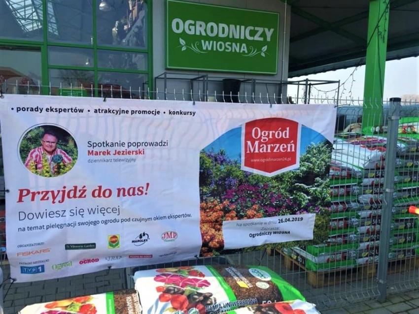 Święto miłośników ogrodnictwa z dziennikarzem telewizyjnym Markiem Jezierskim.