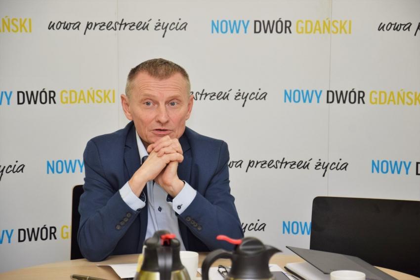 Stanowisko burmistrza Nowego Dworu Gdańskiego w sprawie organizacji wyborów prezydenckich.